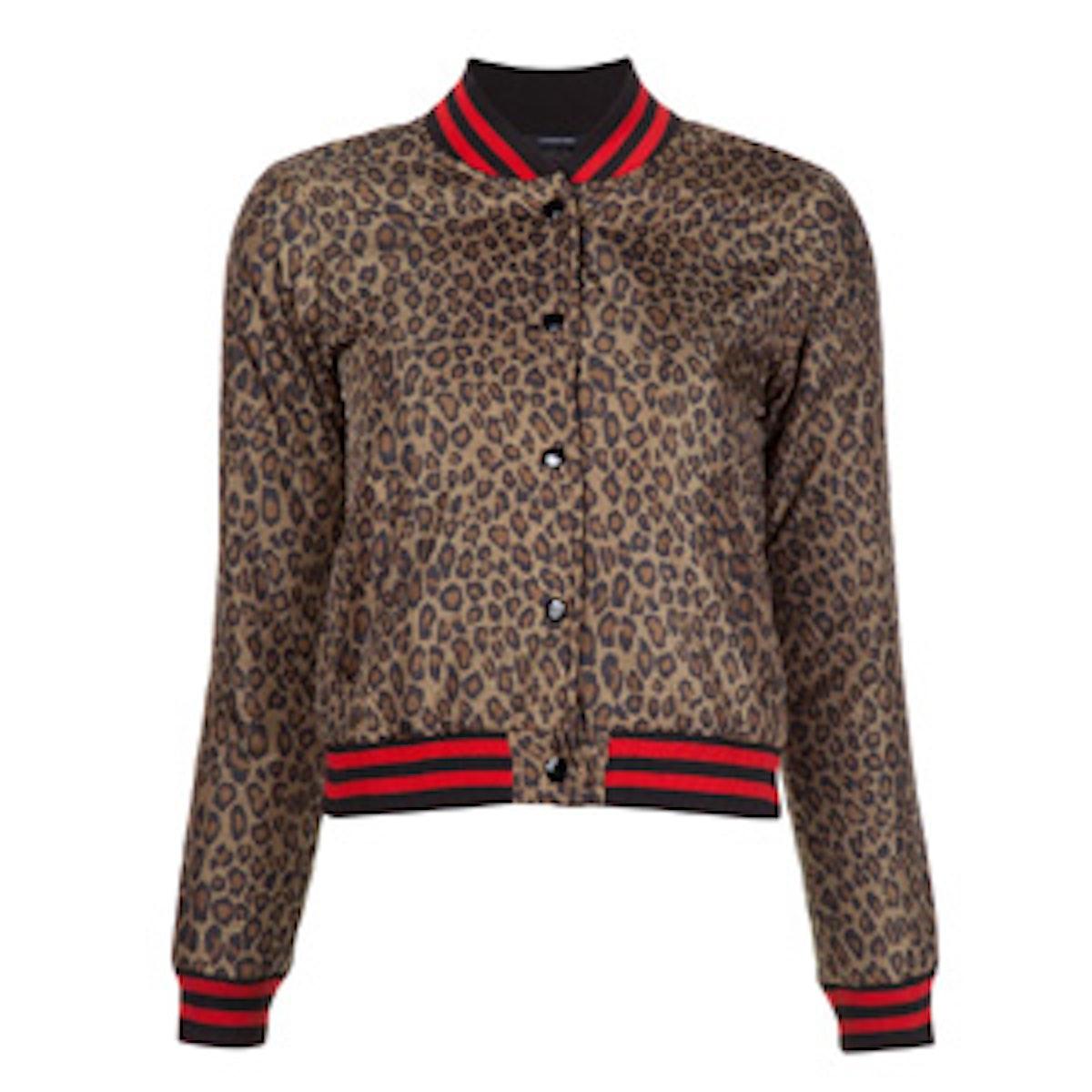 Leopard Print Roadie Jacket