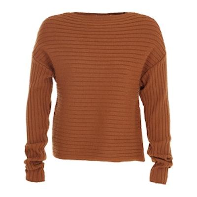 Merino Wool Structured Sweater