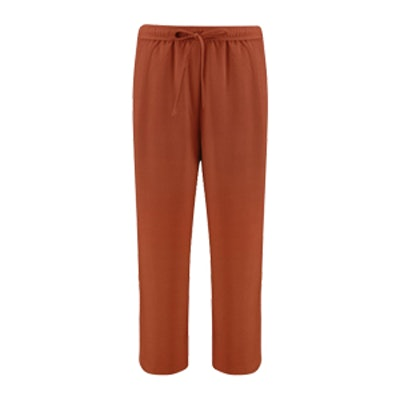 Vanessa Premium Woven Crop Trouser