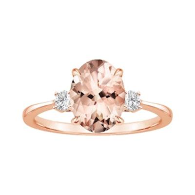 Morganite Selene Ring