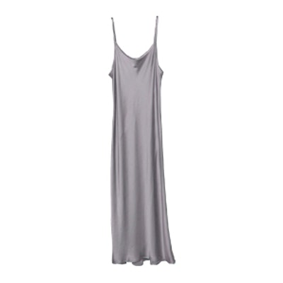 Minimal Slip Dress Solid