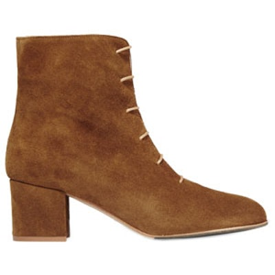 Sun Suede Ankle Boots
