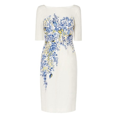 Tamara Blue Floral Dress