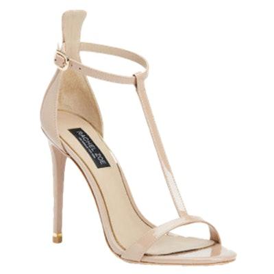 Tee Patent Sandals