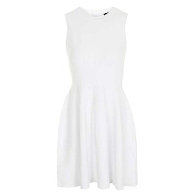 Sleeveless Textured Dress