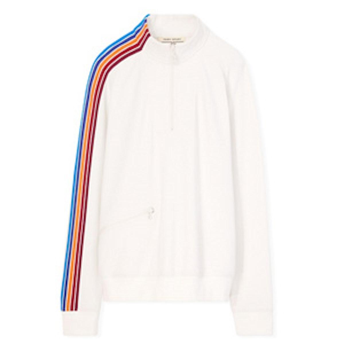 Prism Stripe Pullover