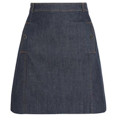 Austin Denim Mini Skirt