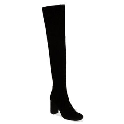 Vegas Suede Thigh Boots