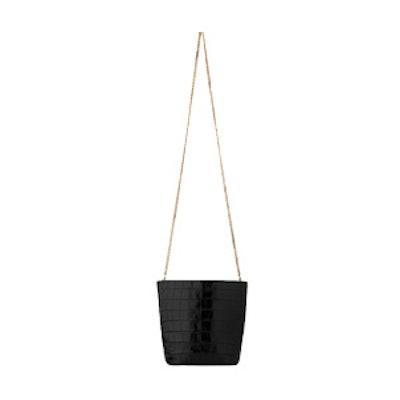 Sylvan Mini Croc Bucket Bag