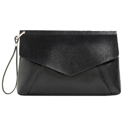 Clutch Bag With Flap