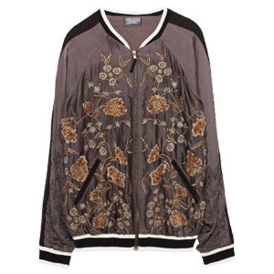 Special Edition Embroidered Bomber Jacket