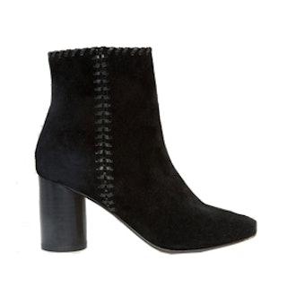 Raine Suede Whipstitch Detail Boots