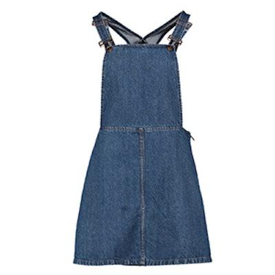 India Dungaree Pinafore Dress