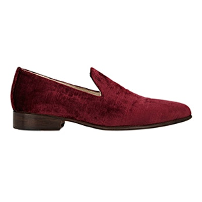 Pointed-Toe Loafers