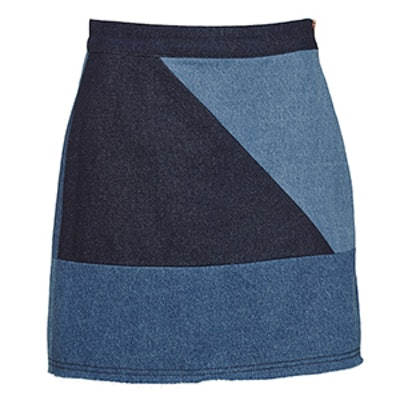 The Limited Aline Spliced Skirt