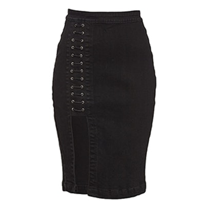 The Limited Tie Up Pencil Skirt