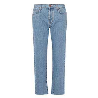 The Original Straight Cropped Mid-Rise Jeans