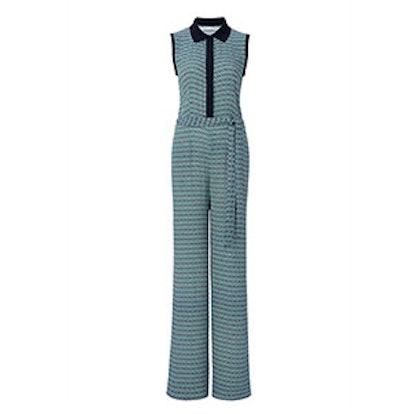 Trista Sleeveless Printed Jumpsuit