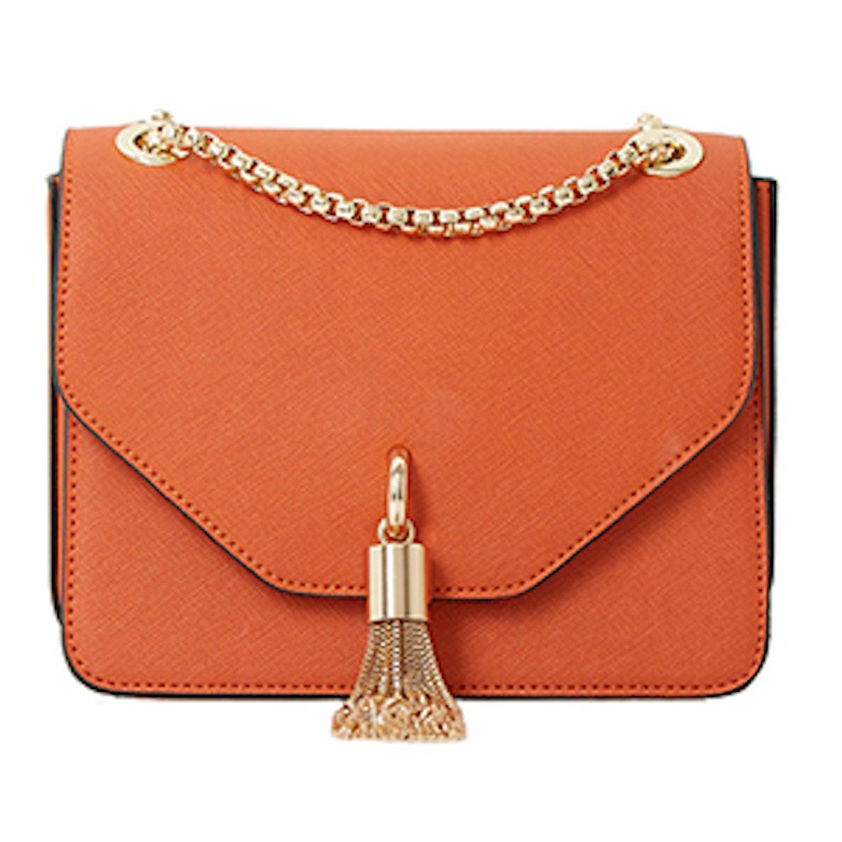 Metal Tassel Boxy Bag
