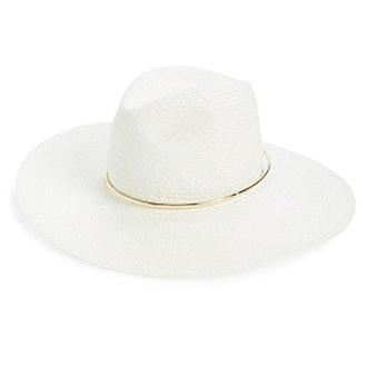 Begonia Wide Brim Panama Hat