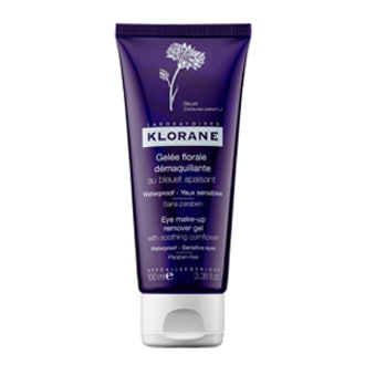 Klorane Eye Make-Up Remover Gel With Soothing Cornflower