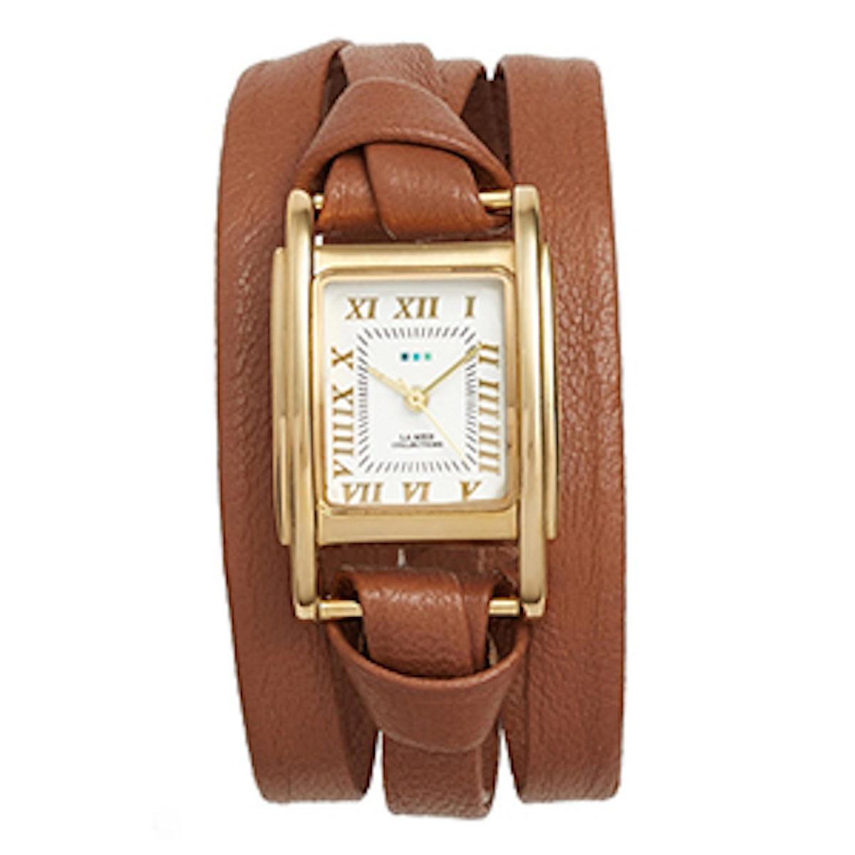 Milwood Leather Wrap Watch