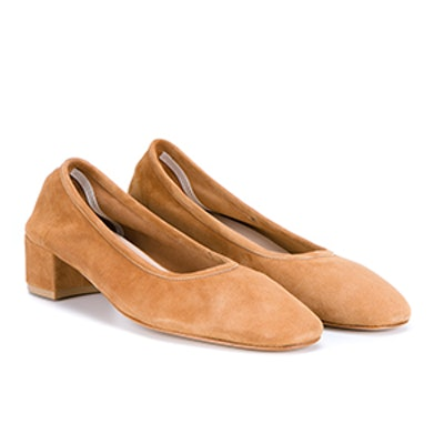 Roberta Suede Pumps