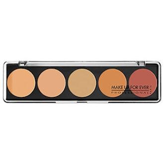 Make Up For Ever 5 Camouflage Cream Palette Color Correct & Concealer