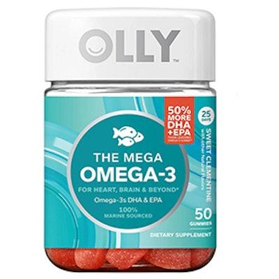 Mega Omega 3 Sweet Clementine Vitamin Gummies