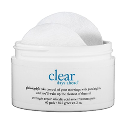 Clear Days Ahead Overnight Repair Salicylic Acid Pads
