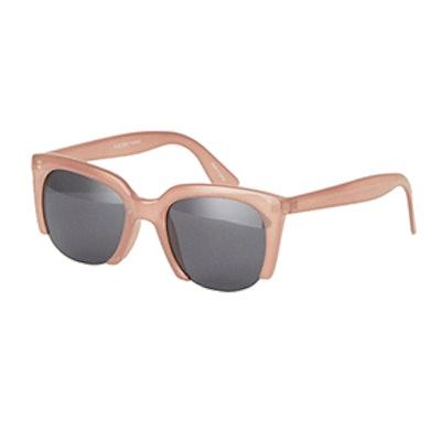 Cut Off Cat Eye Sunglasses