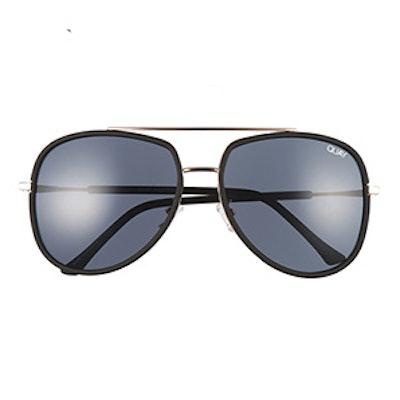 Needing Fame Aviator Sunglasses