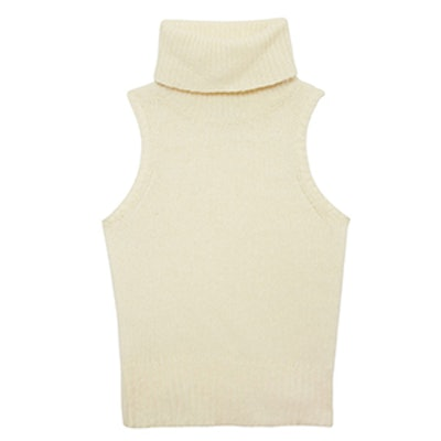 Elodie Sleeveless Turtleneck