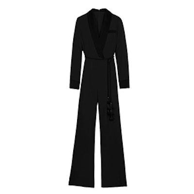Lucida Tuxedo-Inspired Jumpsuit
