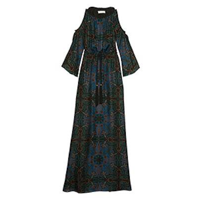Mari Paisley Maxi Dress