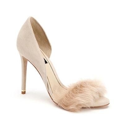 Tami Fur Sandals