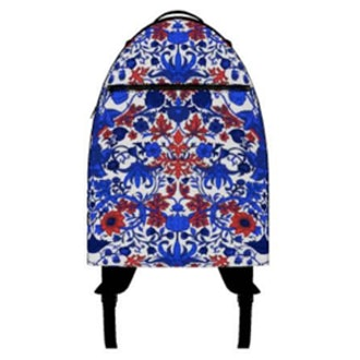 Summer Of Choice Floral Paisley Print Backpack