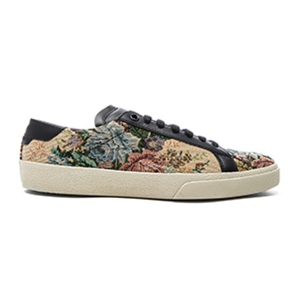 Court Classic Floral Tapestry Sneakers