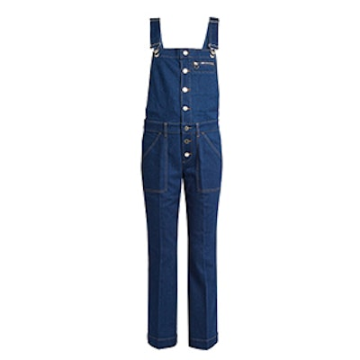 Button-Down Slim-Leg Dungarees