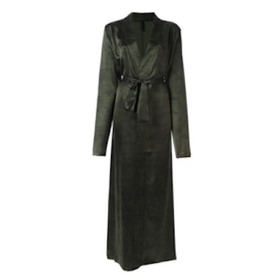 Long Belted Robe