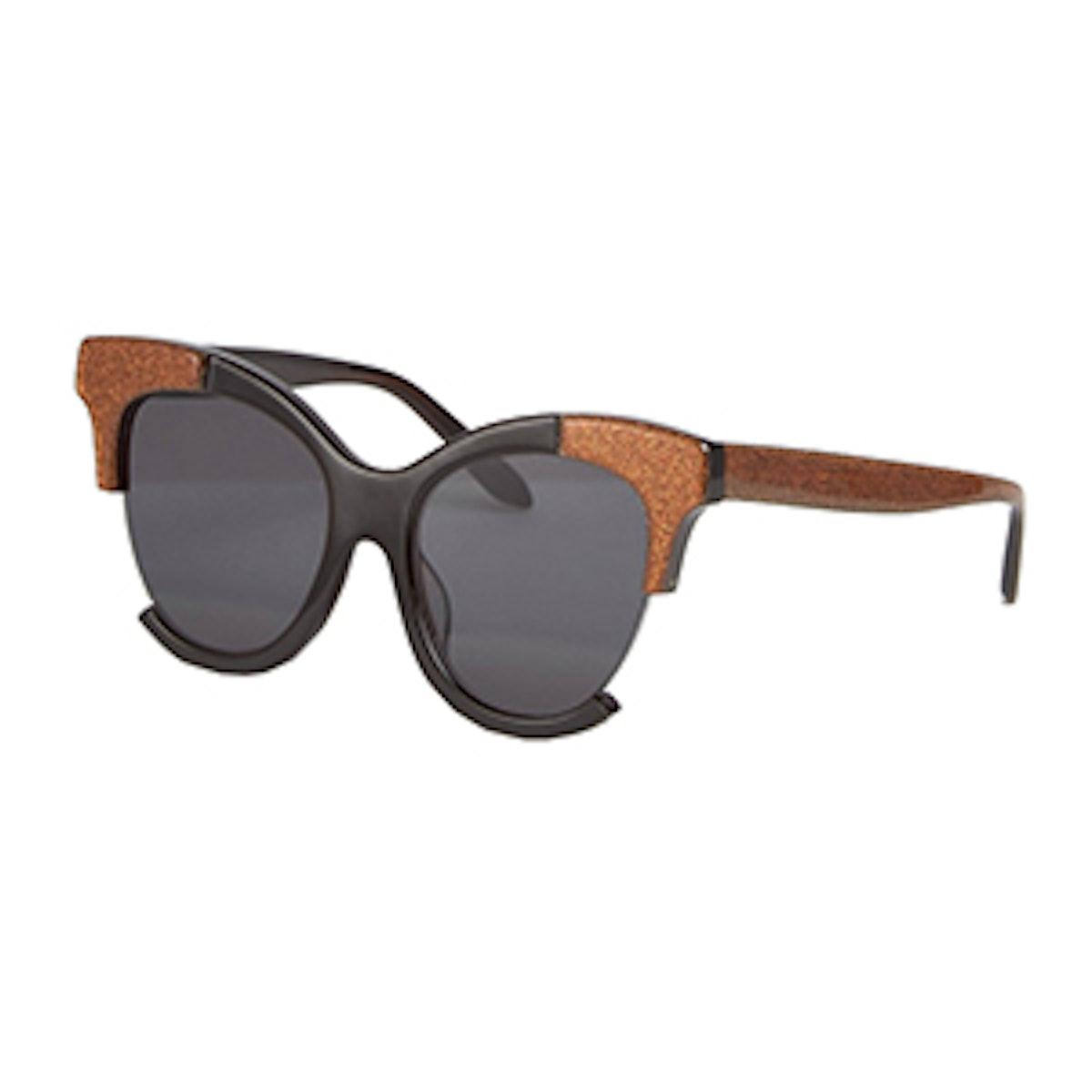 Cut Away Side Cat Eye Sunglasses