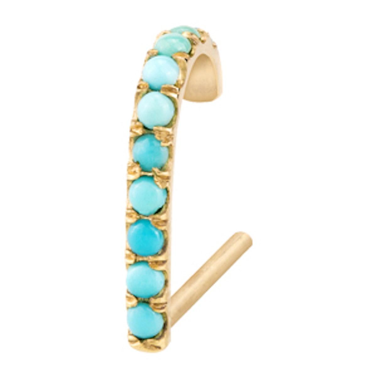Turquoise Suspender Earring