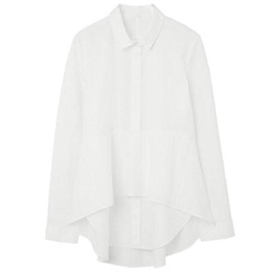 Shirt With Frill Hem