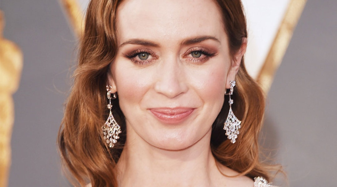 Emily Blunt Looks Almost Unrecognizable With Her New Hairstyle