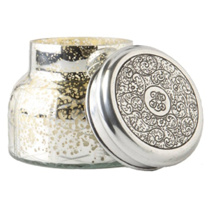 Capri Blue Mercury Glass Jar Candle
