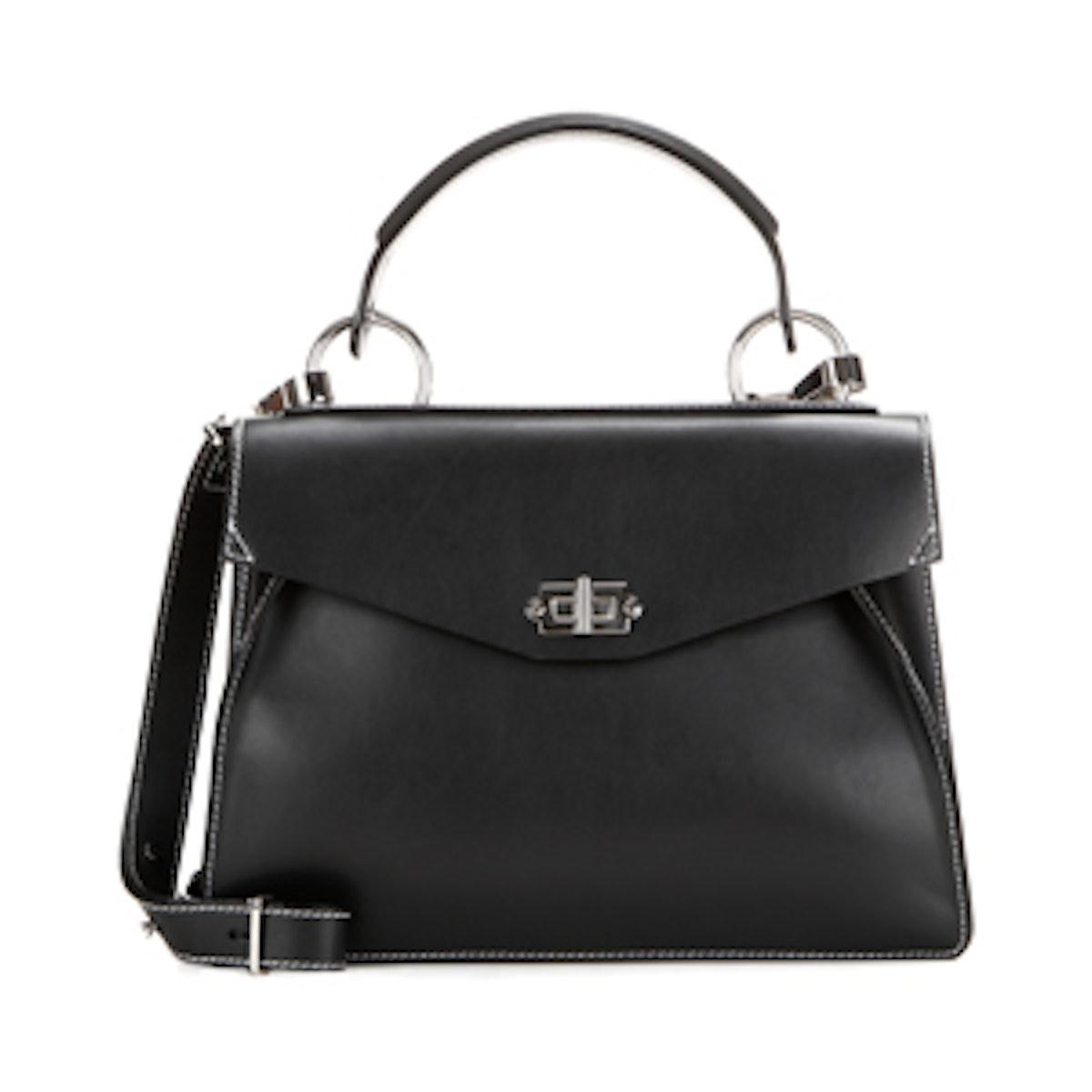 Medium Hava Leather Cross-Body Bag
