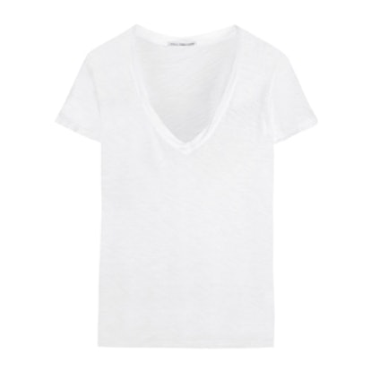 Casual Slub Cotton T-Shirt