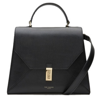 Top Handle Leather Bag