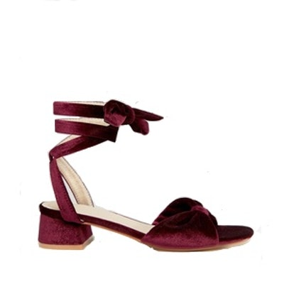 Knot Tie Leg Sandal