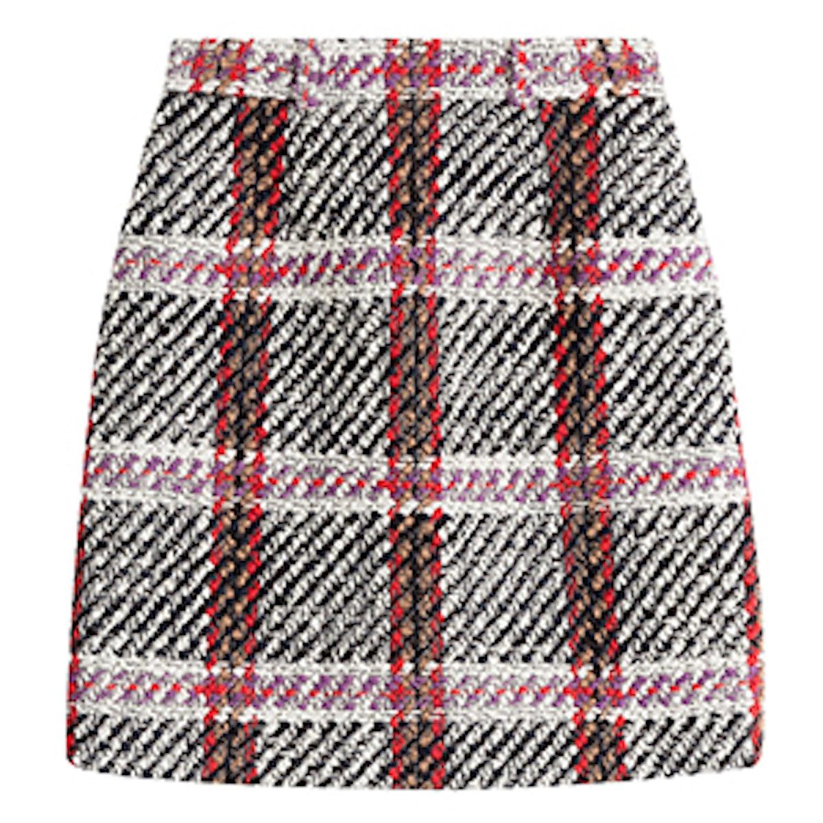 Skirt With Virgin Wool